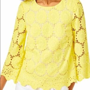 Mariella top Lilly Pulitzer